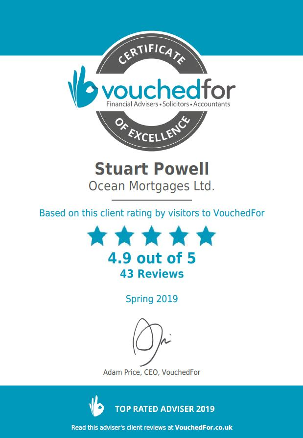 Vouched for certificate of excellence