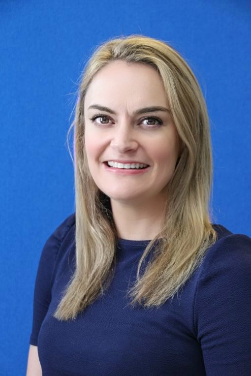 This image shows Jaye who has over twenty years' experience in client facing roles.